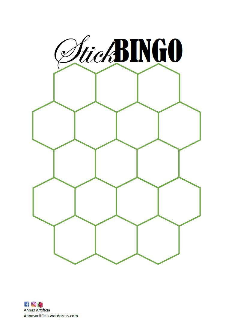 Stickbingo bild